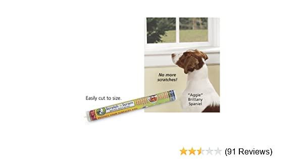Amazon Scratch N Scram Stops Dog Scratches On Doors