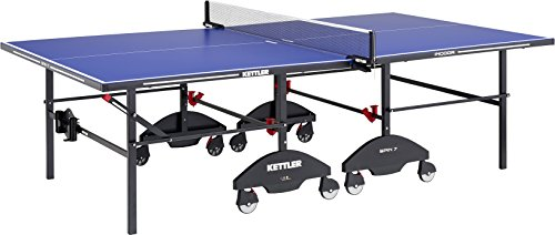 Kettler Tournament 7 Indoor Table Tennis Table, Blue Top