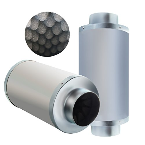VIVOSUN 4 Inch Noise Reducer Silencer for Inline Duct Fan (4