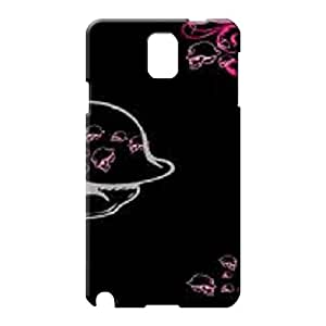 samsung note 3 Highquality Eco-friendly Packaging stylish cell phone skins pink metal mulisha