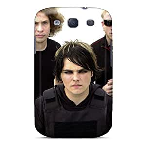 Fashion Tpu Case For Galaxy S3- My Chemical Romance Band Defender Case Cover