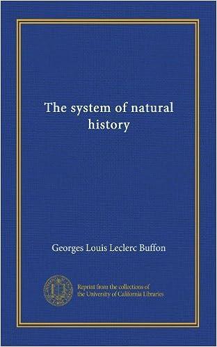Reddit Books herunterladen The system of natural history (v