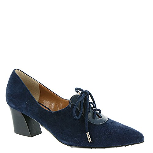 J. Renee Ellam Dames Oxford Marine Leer