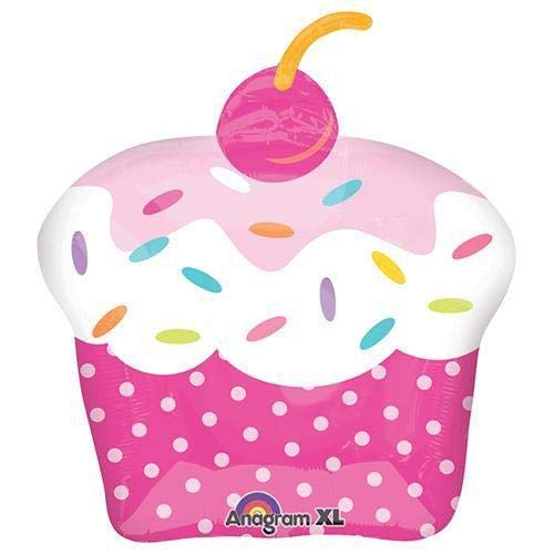 - Anagram 29305 Cupcake Party Foil Balloon, 28