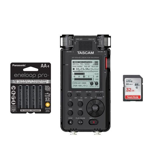 Tascam DR-100MKIII Stereo Linear Portable PCM Recorder -