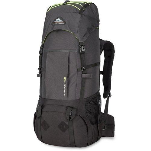High Sierra Tokopah Backpack, Raven/Black/Zest, 45 L [並行輸入品] B07DVVLR51