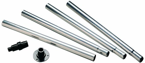 North States 6-Foot Aluminum Birdfeeder Pole and Bracket Set