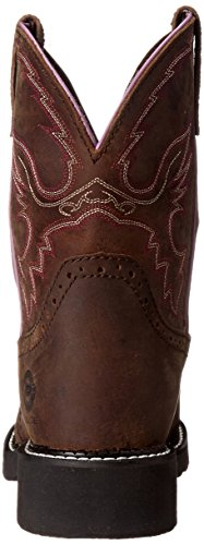 Justin Boots Women's Gypsy Collection 8'' Steel Toe,Aged Bark,5.5B by Justin Boots (Image #2)