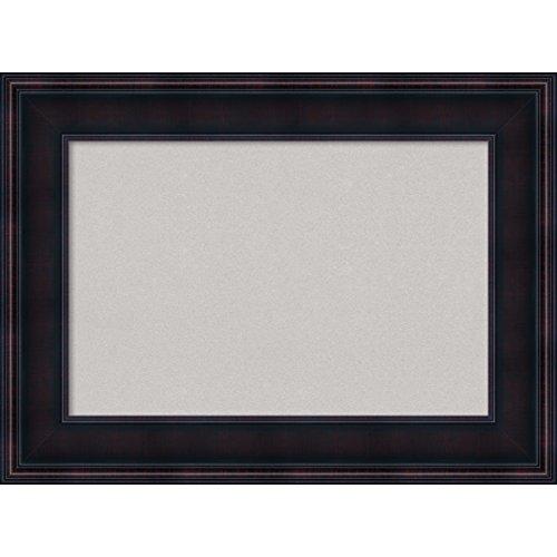 Amanti Art Framed Grey Cork Board Annatto Mahogany: Outer Size 23 x ...