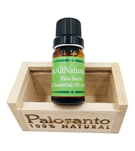 Premium Palo Santo Essential Oil, 100 Percent Pure, Sustainably Sourced from Ecuador (Palo Santo, 12 ml)