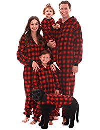 Matching Family Buffalo Plaid Adult Onesie Kids' Bodysuits