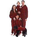 #followme Matching Family Buffalo Plaid Adult Onesie Kids' Bodysuits