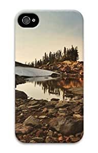 cool cover landscapes nature lake 93 3D Case For Apple Iphone 5C Case Cover