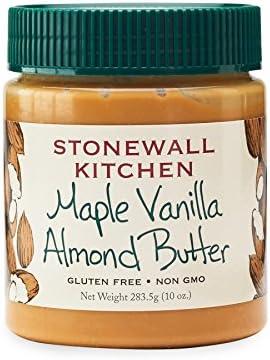 Stonewall Kitchen Arce vainilla mantequilla de almendras, 10 Oz Oro: Amazon.es: Alimentación y bebidas