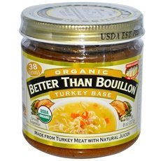 Org Turkey (Spice Hunter B39029 Better Than Bouillon Turkey Base 95 percent Org - 6x8Oz by Better Than Bouillon)