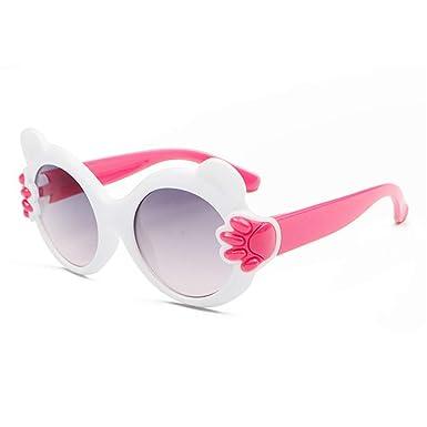 Wang-RX Oso de dibujos animados Gafas de sol pequeñas para ...