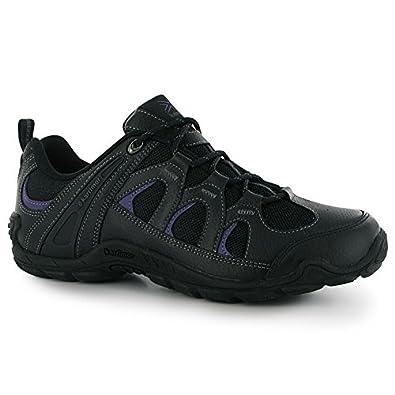 karrimor womens summit leather walking shoes black