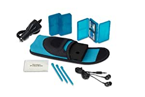PowerA Nintendo Licensed Neoprene Starter Kit - Blue (Dsi)