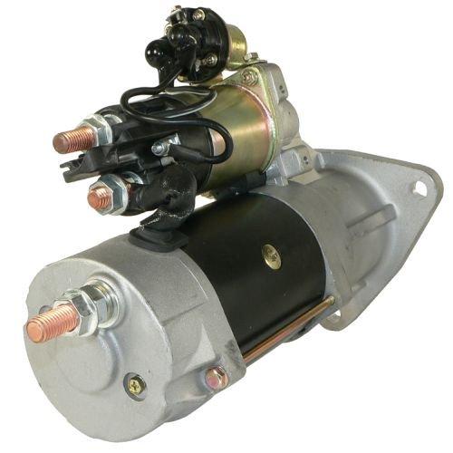 DB Electrical SDR0360 Starter For Cummins 8.3L, Caterpillar C-7 fits Freightliner FL60 FL70 FL80 M2, Peterbilt 320 330 335 340 /Sterling 5500 6500 7500 8500/10461769, 19026028, 19026029, 8200005