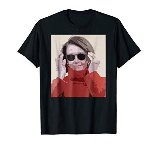 Nancy Pelosi Sunglasses MADAM SPEAKER T-Shirt Meme Feminist (First Black Woman To Serve In Congress)