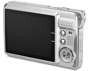 "Aberg Best 21 Mega Pixels 2.7"" LCD Rechargeable HD Digital Camera - Digital video camera - Students cameras - Handheld Sized Digital Camcorder Indoor Outdoor for Adult /Seniors / Kids (Silver) by EASMENS"