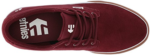 Burgundy Jameson Vulc Chaussures Skateboard Etnies Homme gum De Ywxnvv