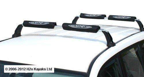 Ruk屋根バー継手CanoeまたはKayak ( 4パッド) by Rukスポーツ   B01LFLFXMM
