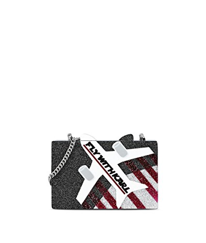 Karl Lagerfeld Pochette Donna 71KW3072 Pvc Nero