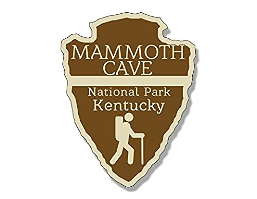 Round MAMMOTH CAVE National Park Sticker (rv camp hike colorado)- Sticker Graphic - Auto, Wall, Laptop, Cell