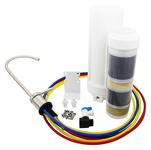 New Wave Enviro NEW-WAVE-ENVIRO-30008 10 Stage Section Undersink-Mounted Water Filter