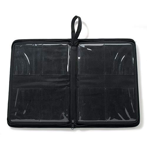 Darice Bulk Buy DIY Embossing Folders Organizer Black Nylon 14.25 x 10 x 1.75 inches (2-Pack) CN2033-994