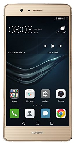 Huawei P9 Lite 16GB VNS-L21 Dual-SIM Factory Unlocked Smartphone - International Version with No Warranty (Gold)