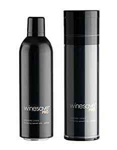 winesave PRO - the premium argon gas wine preserver | 100%, all-natural, food-grade argon gas | up to 150 applications | weighted can | flexible ultra-repellent tube
