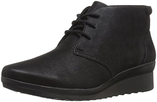 Hop Women's Clarks Caddell Black Boot OqExwpdnBE