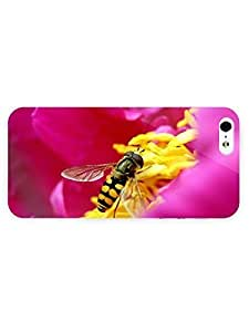 3d Full Wrap Case For Iphone 4/4S Cover Animal Hoverfly67