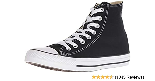 8420cb13786 Converse Unisex Chuck Taylor All-Star High-Top Casual Sneakers in Classic  Style and Color and Durable Canvas Uppers