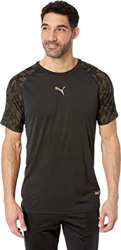 PUMA Men's Vent Graphic Tee Puma Black Medium