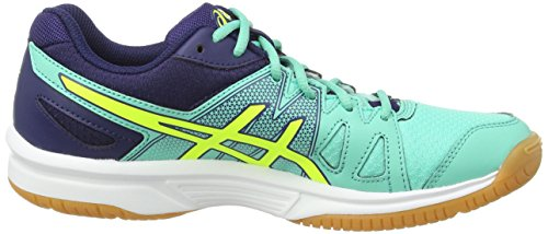 Indigo Yellow 7007 Bleu Squash Flash Mint Femme Asics Chaussures Upcourt de Aqua Gel Axx7qvP