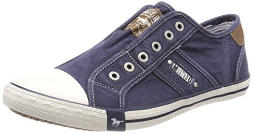 Mustang Men's 4058-401-800 Slip on Trainers Blue (Dunkelblau 800) clearance outlet locations uKkRri