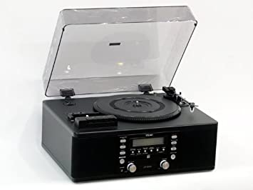 Teac LP R500 Turntable CD RECORDER Radio U0026 Tape Deck (with Remote Control)