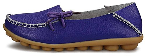 femme Flats 1 Basses Loafer Purple Fangsto Sty WvOZ1nw54