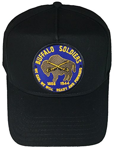 BUFFALO SOLDIERS HAT - BLACK - Veteran Owned Business