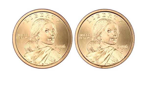 2018 P $1 Native American Sacagawea Dollar Uncirculated BU Philadelphia Coin