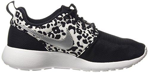 Nike Roshe One Print (GS), Chaussures Multisport Indoor Mixte Enfant Noir (Black 002)