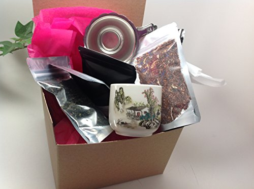 Loose Tea Sampler Gift Wrap Best Seller Small Package Sampler By Music City Tea (Music City Gifts)
