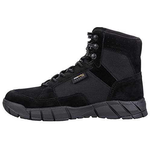 FREE SOLDIER Men's Tactical Boots 6'' inch Lightweight Military Boots for Hiking Work Boots Breathable Desert Boots (Black, 11.5) by FREE SOLDIER (Image #8)