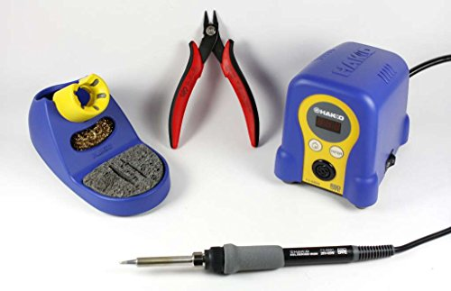 Bundle Includes Soldering Station and CHP170 (Hakko Solder)