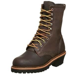 """Golden Retriever Men's 9"""" Work Boot,Brown,7 EE"""