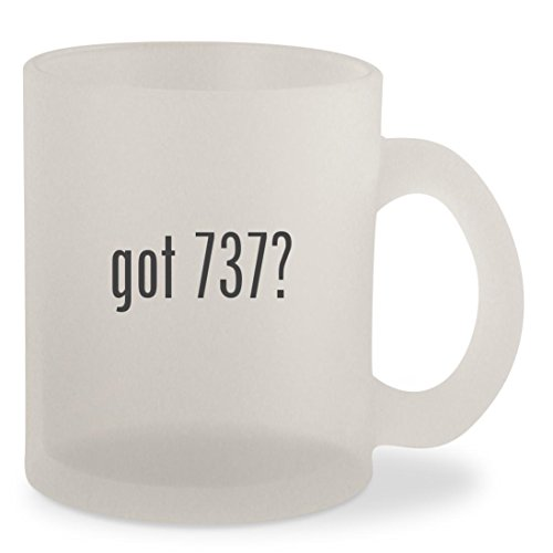 got 737? - Frosted 10oz Glass Coffee Cup Mug