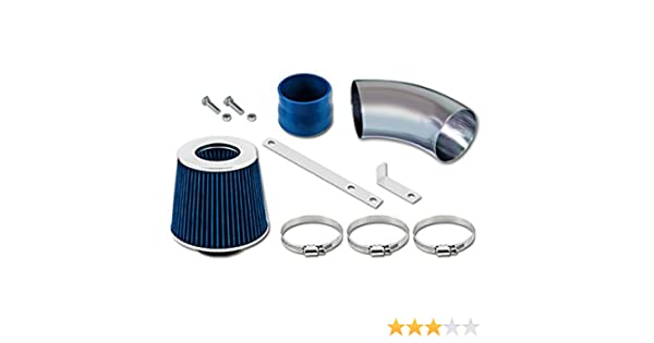 Short Ram Air Intake Kit BLUE Filter For 09-11 Chevy Aveo Aveo5 1.6L L4